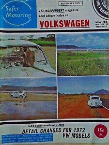 VW-Volkswagen-Safer-Motoring-novembre-1971-Coccinelle-1600-NSU-1200-VW-Diagnostic