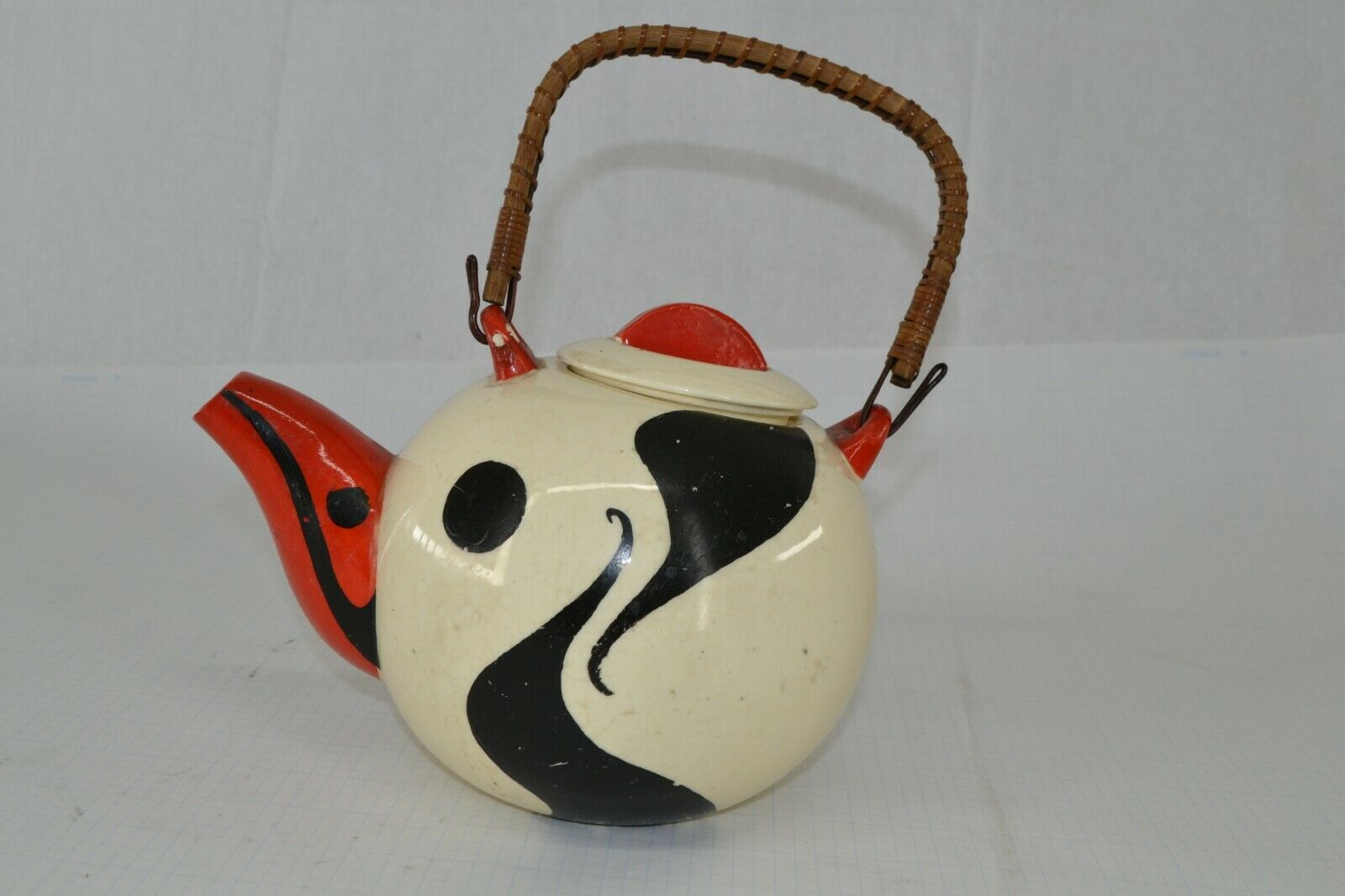 Vintage Moderne Art céramique pot de thé MADE IN JAPAN