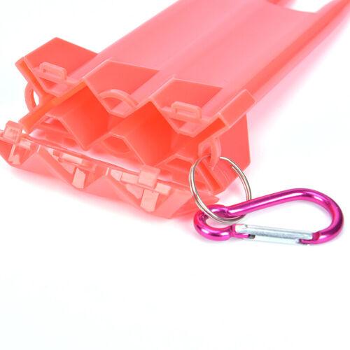 5Colors 1Set Dart Box Plastic Dart Case for Professional Dart Player GreenR RSDE