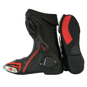 Xtron Motorbike Boots Motorcycle Racing Shoes Long High Ankle Waterproof Sports