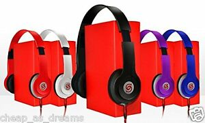 Cuffie-Stereo-DJ-Stile-Pieghevole-Auricolare-Auricolare-in-Ear-Cuffie-mp3-SS