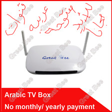 "2017 ""Great Bee"" Arabic TV box IPTV support 400 Arabic channels Free for life!"
