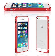 iPhone 5 / 5S 0,7mm Aluminium Bumper Alu Metall Schutz Case Hülle Cover Schale