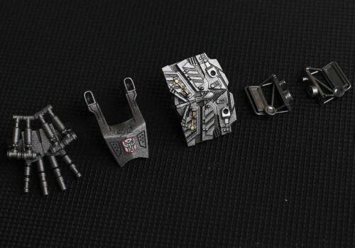TRANSFORMERS 3D DIY KIT set FOR MPM04 black apple Optimus Prime to FILM 3 5PCS