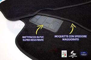 Tappetini-Moquette-Auto-Tappeti-Moquette-per-Ford-Focus-dal-1998-al-2004-no-logo