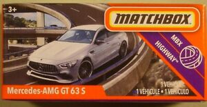 MATCHBOX #44 Mercedes-Benz AMG GT 63 S NEW in BLISTERPACK 2020 issue