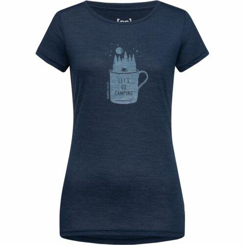 Super.Natural Damen Print Camper T-Shirt Merinoshirt NEU