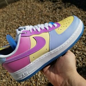 Details about Nike Air Force 1 07 LX UV Basketball Shoes Womens Size 8.5 Athletic Multi Color