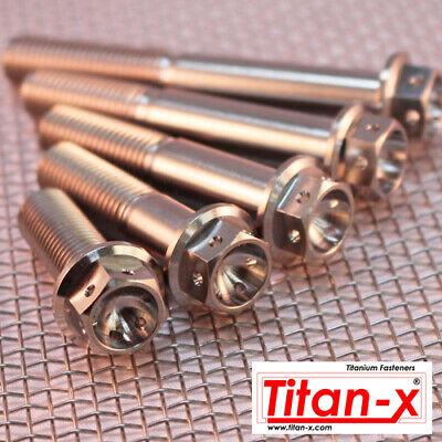 M10 Titanio Race Bulloni 1.25 Pitch FORATO