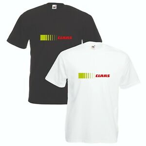 Claas-T-Shirt-VARIOUS-SIZES-amp-COLOURS-Tractor-Farming-Enthusiast