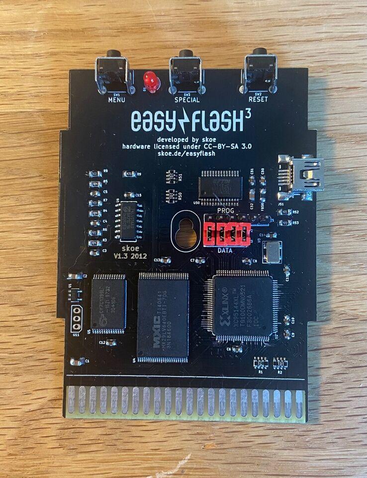 EasyFlash 3, Commodore 64