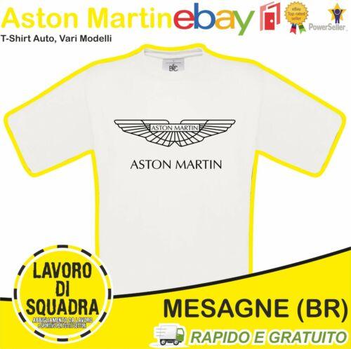Aston Martin T-SHIRT DB5 Classic Auto 007 James Bond db9 COUPE Luxury Car