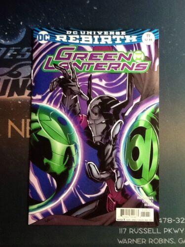 CBL070 GREEN LANTERNS #19 REBIRTH DC COMICS VF//NM VARIANT