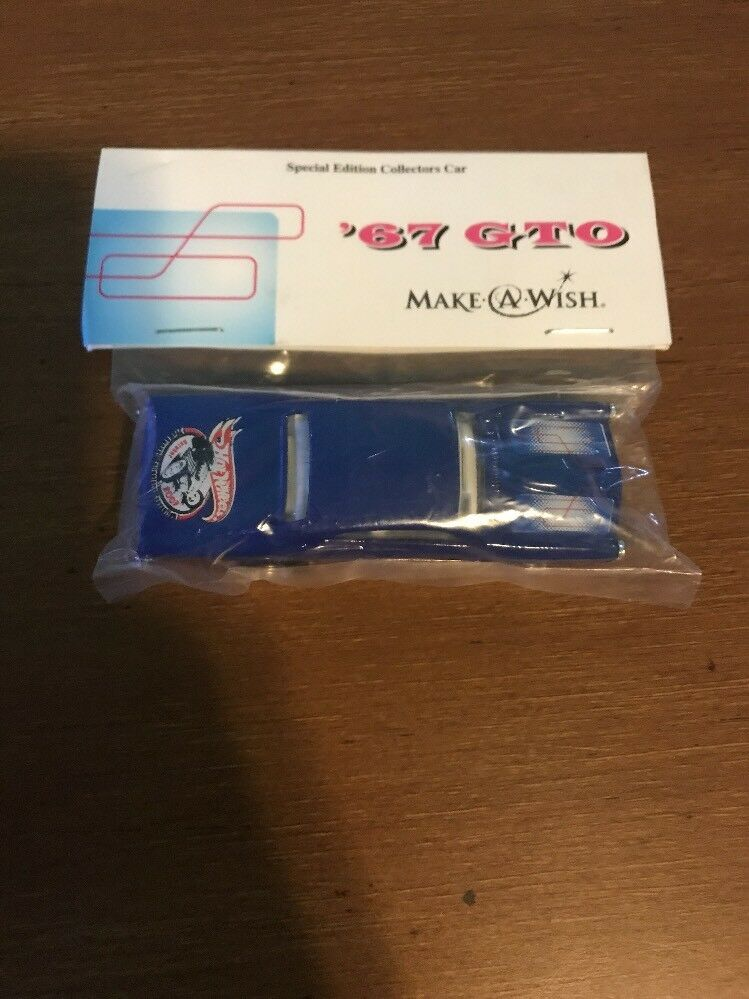 HOT WHEELS - 21ST CONVENTION - MAKE-A-WISH '67 GTO Bingo 1/250 blu