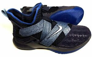 new concept 4c4d6 55b70 Image is loading Nike-LeBron-Soldier-XII-AO2609-401-Size-11-
