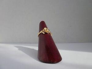 14K Gold platedFlower Rose Ring Sizes 1-2-3-4-5 Lifetim