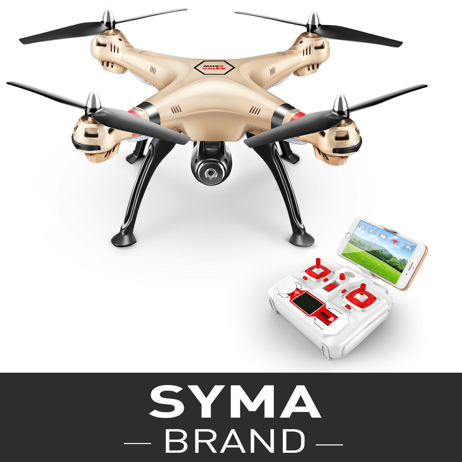 SYMA X8HW RC Quadcopter Drone FPV WIFI 720P 4G Camera Altitude Hold Helicopter