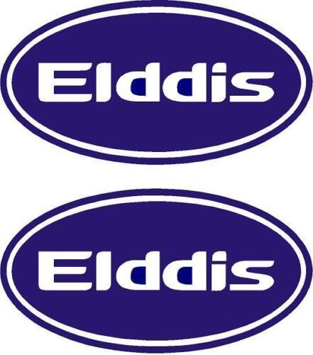 Elddis Oval Wohnwagen Wohnmobil Aufkleber Farbauswahl #001