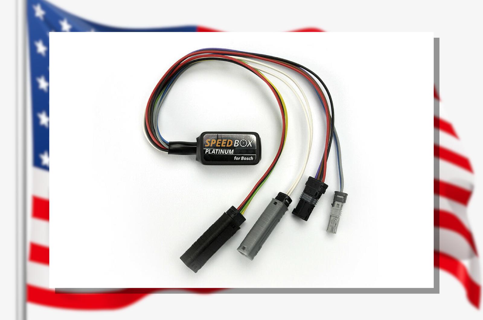 SpeedBox PLATINUM for Bosch Active  Performance  CX  Official USA Dealer