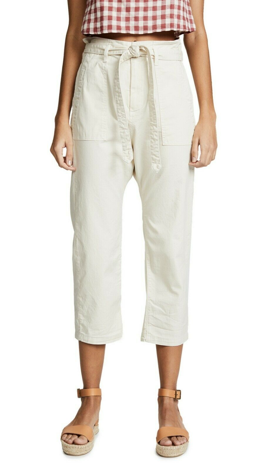 The Great The ConGrünible Trouser Pant  Natural Sz 2 A10304F