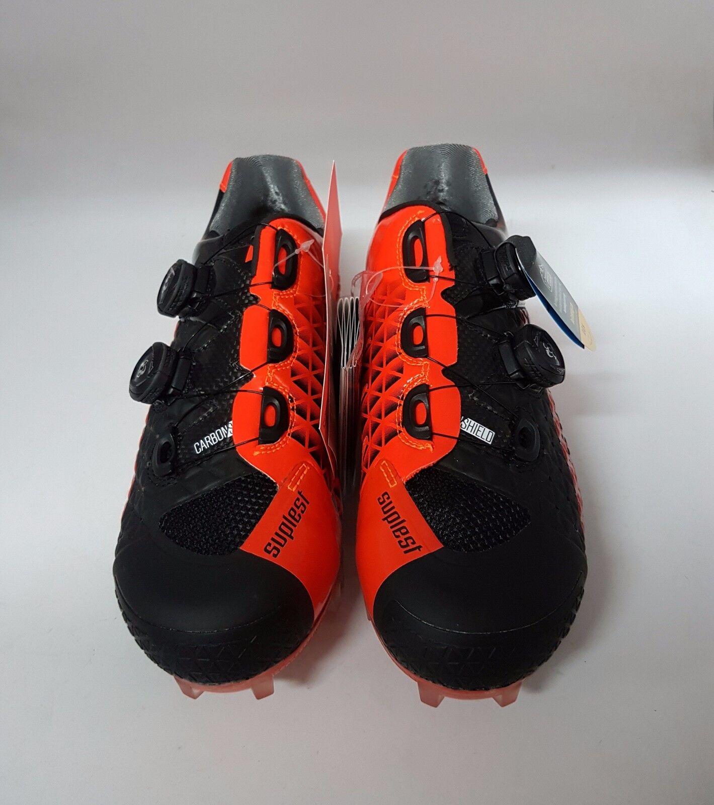 Suplest borde 3 TXC Pro CrossCountry Cochebono Mountain bike Zapatos Neón Naranja Negro Talla 43