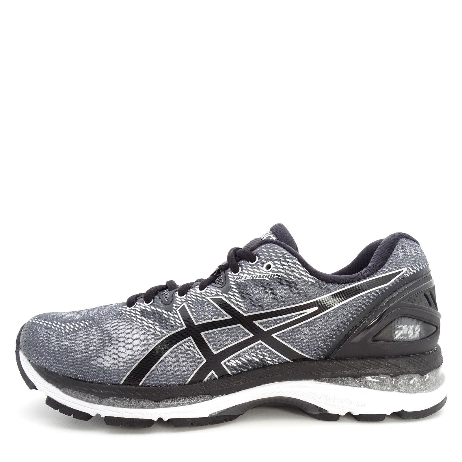Asics GEL-Nimbus 20 [T800N-9790] Men Running Shoes Carbon/Black-Silver