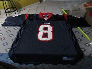 David Carr  8 Houston Texans Vintage Reebok Jersey Size Mens L NFL ... ddec14e4b