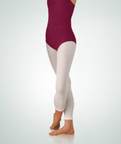 Body Wrappers A33 Women/'s Size Small//Medium White Footless Tights
