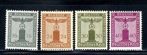 1938-42-Germany-Nazi-SCF1-4-STAMP-Third-Reich-Hitler-Swastika-Deutsch-WWII-MLHOG