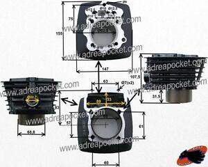 Details about Cylinder Engine Zongshen 200cc/Shineray 200stii and Stiie-B