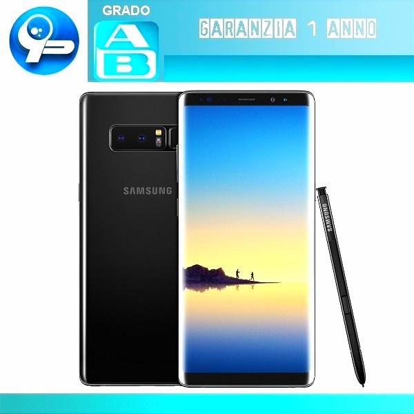 Samsung Galaxy Note 8 64GB (Nero) Ricondizionato Certificato