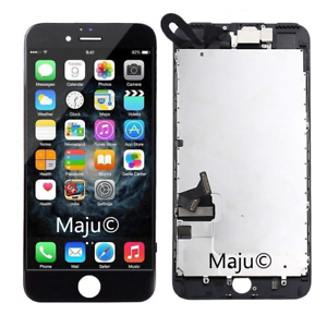 Display-Vormontiert-fuer-Apple-iPhone-7-LCD-Digitizer-Ersatz-Schwarz-Screen-Black