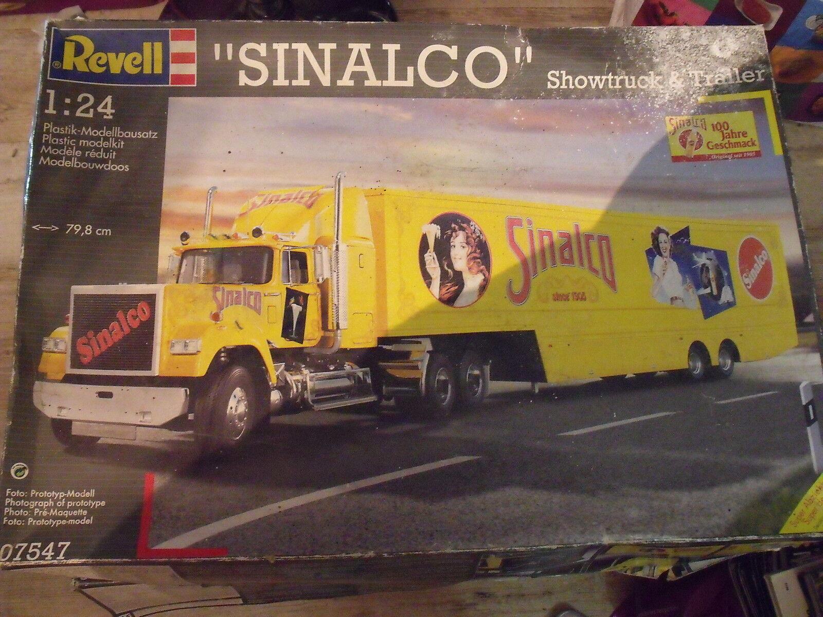 Förlaga REVEL 0757 Showtruck & Tjärnväger SINALCO