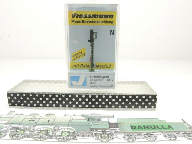 Viessmann 4412 Spur N Einfahrsignal mit SMD-LED's Brand Neu OVP