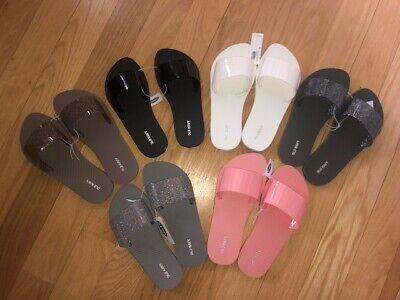Old Navy Women's Flip Flop Jelly Slides