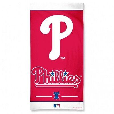 Aufrichtig Mlb Baseball Philadelphia Phillies Badetuch Handtuch Strandtuch Towel 150x75cm Diversifiziert In Der Verpackung Baseball & Softball