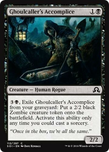 4x Complice dell/'Evocaghoul Ghoulcaller/'s Accomplice MTG MAGIC SOI Eng//Ita