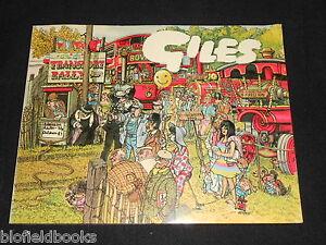Giles Annual 34 34th Series Political Satirical Cartoons 1980