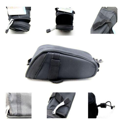 Black Roswheel Bicycle Tail Mountain Bike Tail Road Saddle Bag Pouch Seat Bag