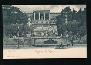 Italy RICORDO DI ROMA Rome Monte Pincio c1902 u/b PPC