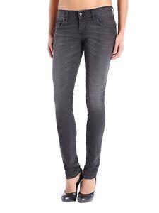 $188 Diesel Damen Grupee Super Slim Skinny Jeans 0822r Größe w31-l32