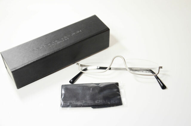 711c3196704c Porsche Design Reading Glasses P8002 B 4 5 TITAN Silver Grey 100 ...
