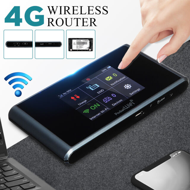Unlocked  4G LTE WIFI Wireless Router Mobile Hotspot Modem Dual Band Sim Card
