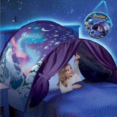 SENSORY BEDROOM SNOWFLAKE BED POD AUTISM ASPERGES RELAXATION