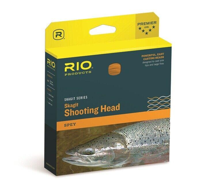 Rio Skagit Max Shooting Head  475 grain  Spey Fly Line  gratuito SHIPPING