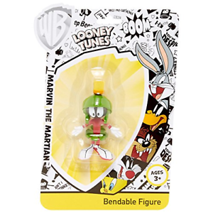 Marvin the Martian Bendable Figure Looney Tunes
