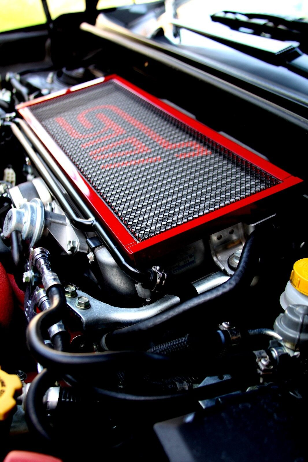 intercooler sti subaru wrx screen guard tmic 2008 protector avt screens turbo engine impreza parts boot