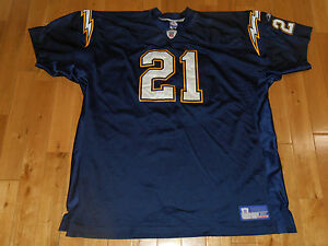 free shipping 2fa13 08f55 Details about Reebok On Field LADAINIAN TOMLINSON SAN DIEGO CHARGERS  Authentic NFL JERSEY 60