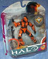 Mcfarlane Halo 3 Spartan Soldier Cqb Orange Exclusive Action Figure