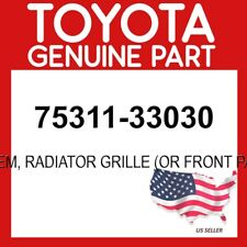 GENUINE TOYOTA 97-01 CAMRY OEM FRONT PANEL GRILLE LOGO BADGE EMBLEM 75311-33030